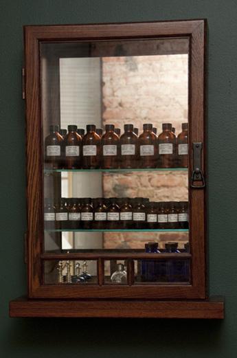 aromatherapy cabinet
